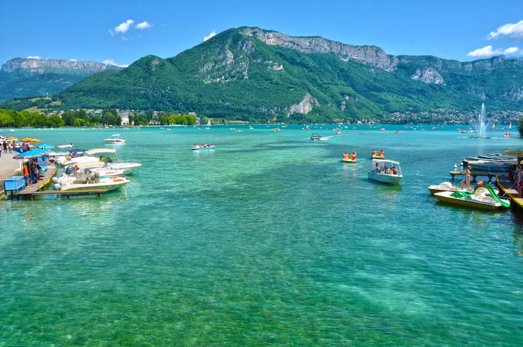 Lac d'Annecy sport et tourisme